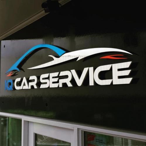 IQ CAR SERVICE - Logo wand 2